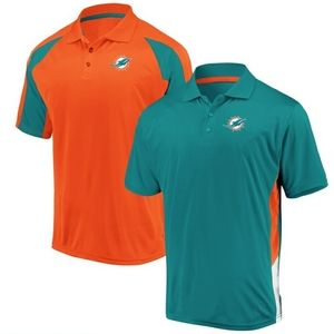 Miami Dolphins Men's Home and Away Polos